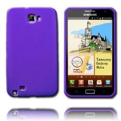 Mjukskal (Lila) Samsung Galaxy Note Silikonskal