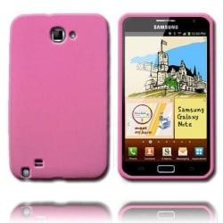 Mjukskal (Ljusrosa) Samsung Galaxy Note Silikonskal