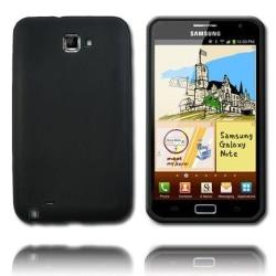 Mjukskal (Svart) Samsung Galaxy Note Silikonskal