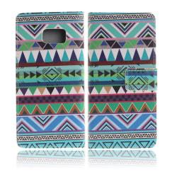 Moberg Läderfodral för Samsung Galaxy Note 7 - Tribal Triang