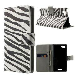 Moberg (Zebra) Sony Xperia E3 Fodral