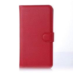 Moen Microsoft Lumia 640 XL Flip Fodral med Plånbok - Röd