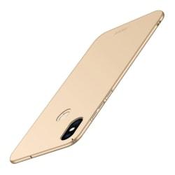 MOFI Xiaomi Mi 8 (6.21-tum) mobilskal plast skydd - Guld