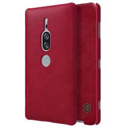 NILLKIN Sony Xperia XZ2 Premium mobilfodral plast syntetläde