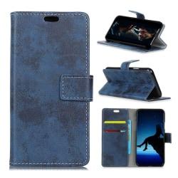 Nokia 2.1 mobilfodral syntetläder silikonmaterial i stående