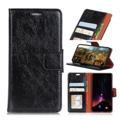 Nokia 5.1 Plus mobilfodral delad läder stående plånbok - Sva
