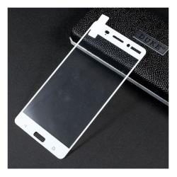 Nokia 6 full skärmskydd - Vit