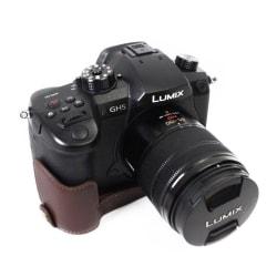 Panasonic DMC-GH5GK - GH5 kameraskydd nederdel äkta läder -