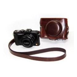 Panasonic Lumix LX7LX5LX3 Snyggt kamera skydd - Brun