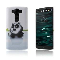 Persson Plastskal för LG V10 - Panda Äter Bambu