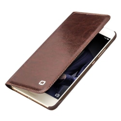 QIALINO Huawei P10 Klassiskt läder skal - brun