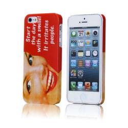 Retro Woman (Röd) iPhone 5 Skal