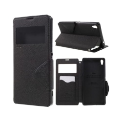 Roar Korea Sony Xperia XA Ultra läderfodral - Svart