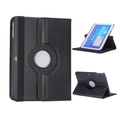 Rotor (Svart) Samsung Galaxy Tab 3 10.1 Läderfodral