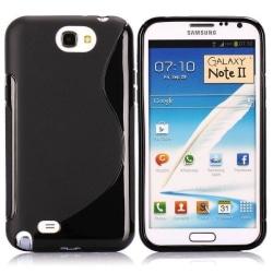 S-Line Solid (Svart) Samsung Galaxy Note 2 Skal