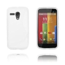S-Line (Vit) Motorola Moto G Skal