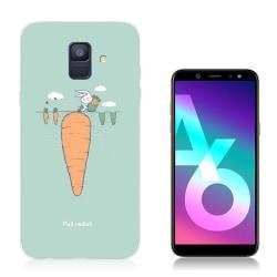 Samsung Galaxy A6 (2018) mobilskal silikon mönster - Rädisa