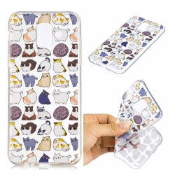 Samsung Galaxy A6 (2018) mobilskal silikon mönster - Tecknad