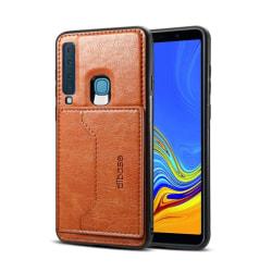 Samsung Galaxy A9 (2018) silikonplast mobilskal med syntetlä