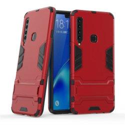 Samsung Galaxy A9 (2018) slitstarkt hybrid plast mobilskal m