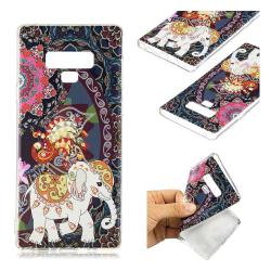 Samsung Galaxy Note9 mobilskal silikon tryckmönster - Älskvä