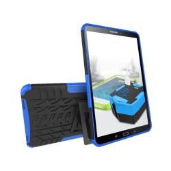 Samsung Galaxy Tab A 10.1 (2016) kickstand hybridskal - Blå