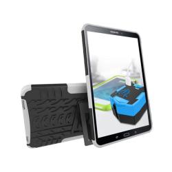 Samsung Galaxy Tab A 10.1 (2016) kickstand hybridskal - Vit