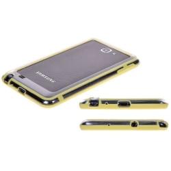 Slim Bumper (LjusGul) Hard Samsung Galaxy Note Bumper