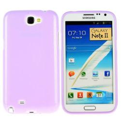 Soft Glitter Shell (Lila) Samsung Galaxy Note 2 Skal