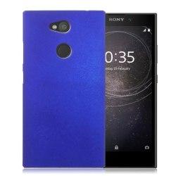Sony Xperia L2 Unikt enfärgat skal - Mörk blå