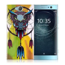 Sony Xperia XA2 mobilskal TPU självlysande - Uggla och drömf