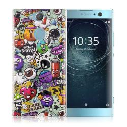 Sony Xperia XA2 mobilskal TPU självlysande - Wow hjärnor
