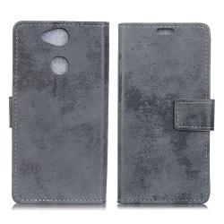 Sony Xperia XA2 Plus mobilfodral syntetläder silikon plånbok
