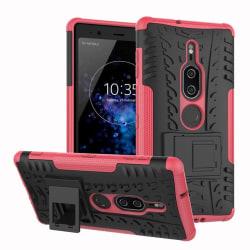 Sony Xperia XZ2 Premium mobilskal plast silikon utfällbart s