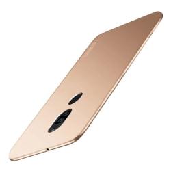 Sony Xperia XZ2 Premium mobilskal silikon matt - Guld