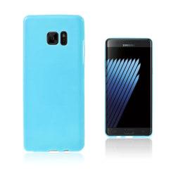Sund Flexibelt Skal för Samsung Galaxy Note 7 - Blå