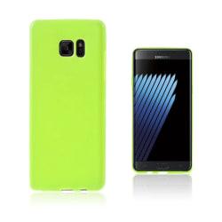 Sund Flexibelt Skal för Samsung Galaxy Note 7 - Grön