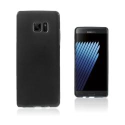 Sund Flexibelt Skal för Samsung Galaxy Note 7 - Svart
