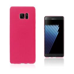Sund Flexibelt Skal för Samsung Galaxy Note 7 - Varm Rosa