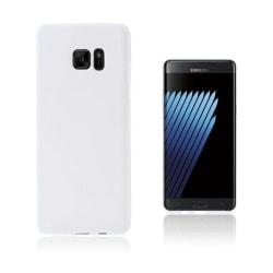 Sund Flexibelt Skal för Samsung Galaxy Note 7 - Vit