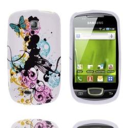 Symphony (FärgCirklar) Samsung Galaxy Mini Silikonskal