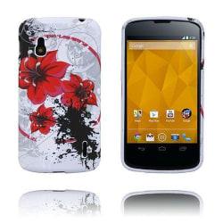Symphony (Röda Blommor) LG Google Nexus 4 Skal