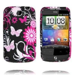 Symphony (Rosa Fjärilar) HTC Wildfire G8 Skal