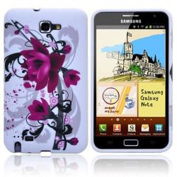 Symphony (Två Lila Rosor) Samsung Galaxy Note Skal