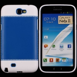 TailorMade Vit (Blå) Samsung Galaxy Note 2 Skal