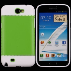 TailorMade Vit (Grön) Samsung Galaxy Note 2 Skal