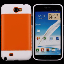 TailorMade Vit (Orange) Samsung Galaxy Note 2 Skal