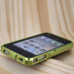 TRON S4 (Grön) iPhone 4 Aluminium-Bumper