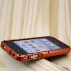 TRON S4 (Orange) iPhone 4 Aluminium-Bumper
