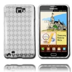 Tuxedo (Vit) Samsung Galaxy Note Skal